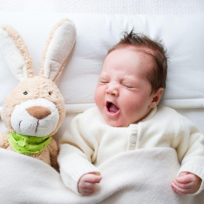 Mit diesem Trick schläft jedes Baby blitzschnell ein (Foto)