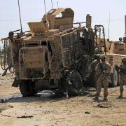 Viele Tote bei Anschlägen auf Nato-Konvoi in Afghanistan (Foto)