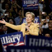 Hillary Clinton will Sonntag Kandidatur bekanntgeben (Foto)