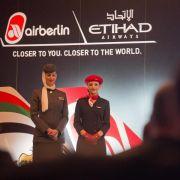 Air Berlin droht Verbot einiger Gemeinschaftsflüge mit Etihad (Foto)