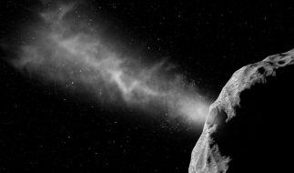 """Nasa und Esa wollen mit einem Einschlag auf """"Didymoon"""" die Abwehr von Asteroiden testen. (Foto)"""