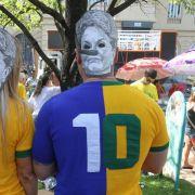 Massendemonstrationen gegen Rousseff in Brasilien (Foto)