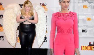 Die Promis gaben sich auch in diesem Jahr wieder mehr oder weniger Mühe mit ihren Outfits bei den MTV Movie Awards. (Foto)