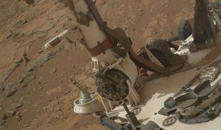 Marsrover findet Hinweise auf flüssiges Wasser (Foto)