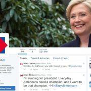 US-Vorwahlkampf nimmt nach Clinton-Kandidatur Fahrt auf (Foto)