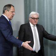 Außenminister beraten in Berlin über Ukraine-Krise (Foto)