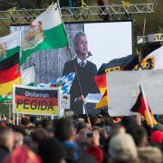 Wilders beschert Pegida nicht den erhofften Zulauf (Foto)