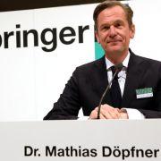 Springer-Chef: Bezahlmodelle im Netz auf dem Vormarsch (Foto)