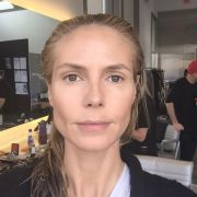 Heidi Klum zeigt sich ungeschminkt.
