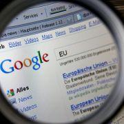 EU-Kommission droht Google mit Milliardenstrafe (Foto)
