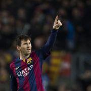 Barca nach Sieg in Paris schon fast im Halbfinale (Foto)