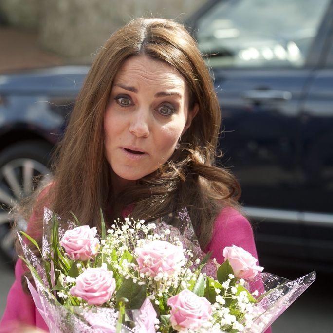 Ganz schön schwanger, liebe Kate! (Foto)