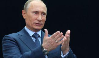 Putin gilt in Russland als Geringverdiener. (Foto)