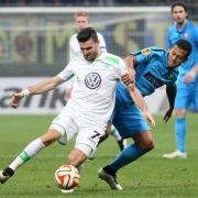 VfL Wolfsburg steht vorm Aus in der Europa League (Foto)