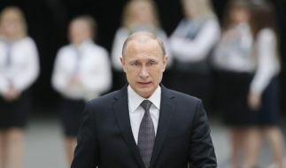 Wladimir Putin will eine Anti-Terror-Koalition gegen den Islamischen Staat - unter russischer Führung. Die Idee stößt im Westen auf wenige Gegenliebe. (Foto)