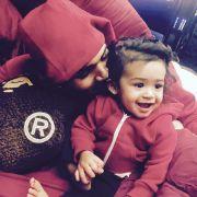 Chris Brown: Ganz verliebt in Tochter Royalty (Foto)