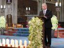 Trauerfeier für Absturzopfer