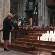 NRW-Ministerpräsidentin Hannelore Kraft gedenkt der Opfer.