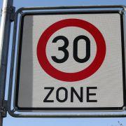Länderverkehrsminister einstimmig für mehr Tempo-30-Zonen (Foto)