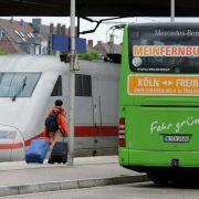 Bahnchef Grube fordert Maut für Fernbusse (Foto)