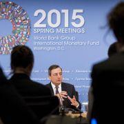 EZB-Chef verteidigt ultralockere Geldpolitik (Foto)