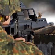 Kurden im Irak finden umstrittenes G36-Gewehr «super» (Foto)