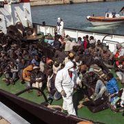 Flüchtlingsdrama: Kaum Hoffnung auf weitere Überlebende (Foto)