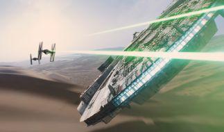 """""""Star Wars"""" ist zurück! Erstmals unter der Regie von J.J. Abrams, der zuvor schon """"Star Trek"""" erfolgreich fortsetzte. (Foto)"""