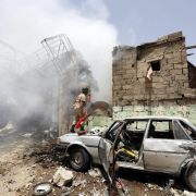 Jemen: Zivilisten sterben bei Luftangriff auf Sanaa (Foto)