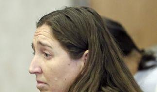 Megan Huntsman wollte ihre Kinder laut eigener Aussage schützen. (Foto)