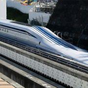 Japanischer Magnetzug rast mit Tempo 603 zum Weltrekord (Foto)