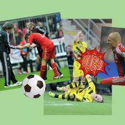Fußball-Lazarett: Diese Clubs haben die meisten Verletzten (Foto)