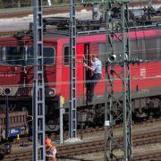 Siebte Streikwelle bei der Bahn mit Auftakt im Güterverkehr (Foto)