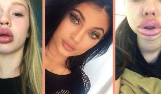 Die Kylie Jenner Challenge sorgt für Aufsehen im Netz. (Foto)