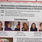 Verfassungsschutz war NSU-Trio dicht auf der Spur (Foto)