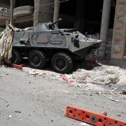 Saudische Jets bombardieren weiter Ziele im Jemen (Foto)