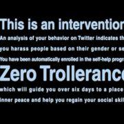 zero Trollerance