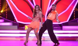"""Enissa Amani und Christian Polanc haben gute Chancen bis ins Finale von """"Let's Dance"""" 2015 zu kommen. (Foto)"""