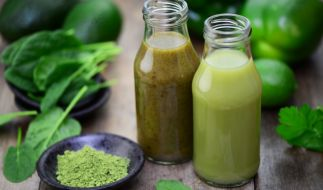 Grüne Smoothies wirken sich positiv auf die Gesundheit aus. (Foto)