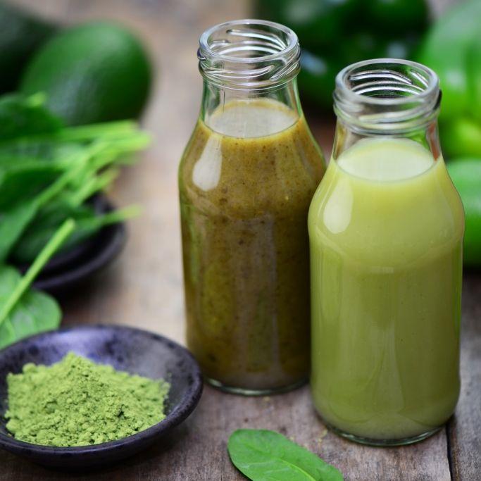 Grüne Smoothies - Der Power-Drink für die Potenz (Foto)