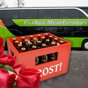 GDL streikt - Fernbusse feiern (Foto)
