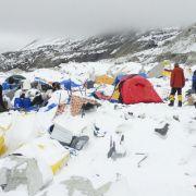 Griechische Bergsteiger überlebten - wegen Diebstahls (Foto)