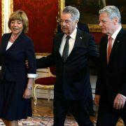 Gauck betont Notwendigkeit einer europäischen Außenpolitik (Foto)