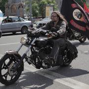 """Putins-Rocker gehen auf """"Weltkriegs""""-Tour (Foto)"""
