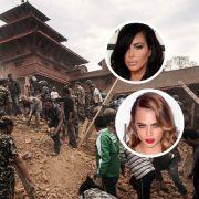 Im Spendenfieber: Wie Katy Perry und Co. für Nepal beten (Foto)
