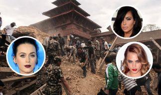 Nicht nur Katy Perry nutzt ihren Prominenten-Status zu Gunsten der Opfer in Nepal. (Foto)
