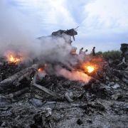 Bericht: Berlin wusste von Abschuss-Gefahr in der Ostukraine (Foto)