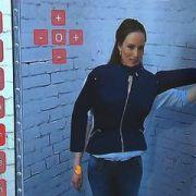 So können sich Kundinnen in der virtuellen Umkleidekabine sehen.