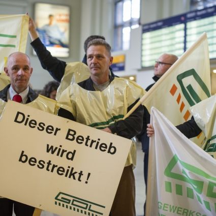 Bahnstreik - GDL-Streik