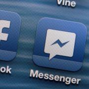 Facebook führt Videoanrufe in Chat-Dienst Messenger ein (Foto)